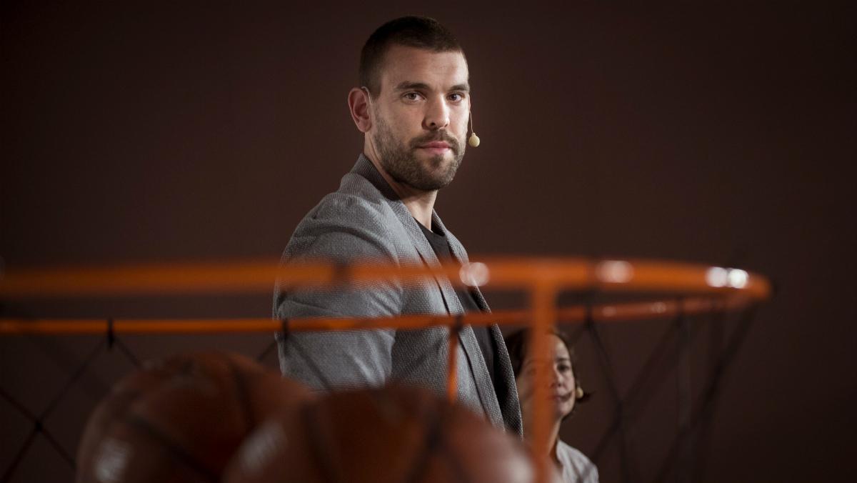 Marc Gasol no sabe cuando reaparecerá en una cancha de baloncesto. (EFE)