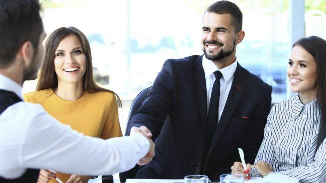 Mujeres y hombres en la empresa