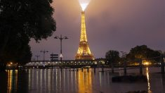 Vista de la Torre Eiffel (Foto: AFP).
