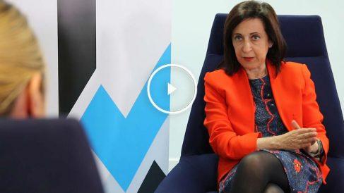 La 'número dos' del PSOE por la lista de Madrid, Margarita Robles. (Foto: Marcos Rivera)