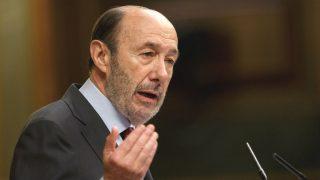El ex ministro del Interior socialista, Alfredo Pérez Rubalcaba (Foto: Getty)