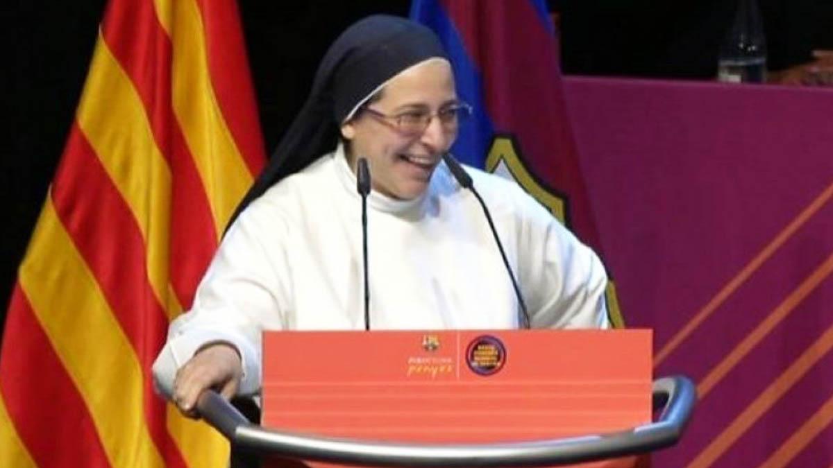 La monja independentista Sor Lucía Caram.