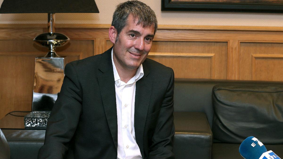 El presidente del Gobierno regional de Canarias, Fernando Clavijo (Coalición Canaria)