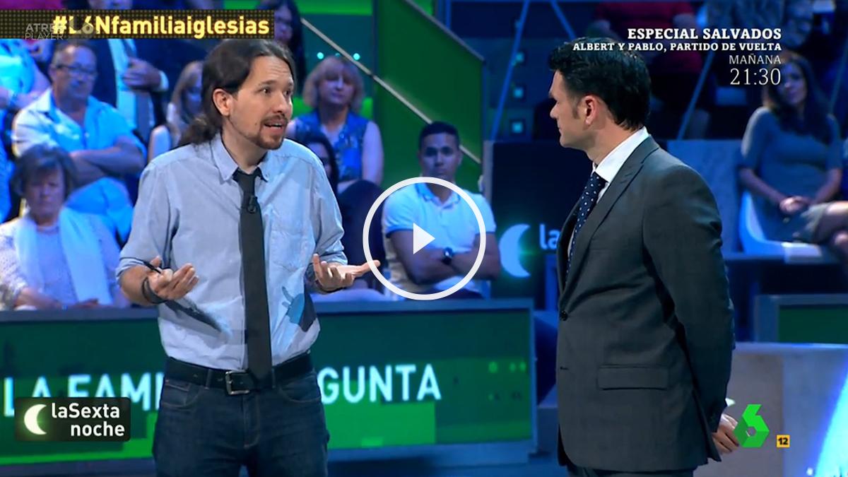 Pablo Iglesias en La Sexta Noche