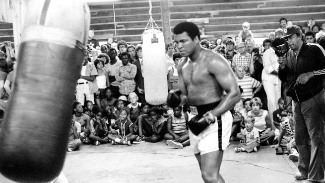 Muhammad Ali Soy El Rey Del Mundo Floto Como Una Mariposa
