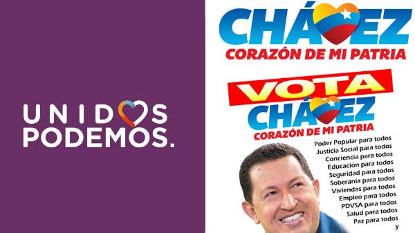 Podemos-Hugo-Chávez