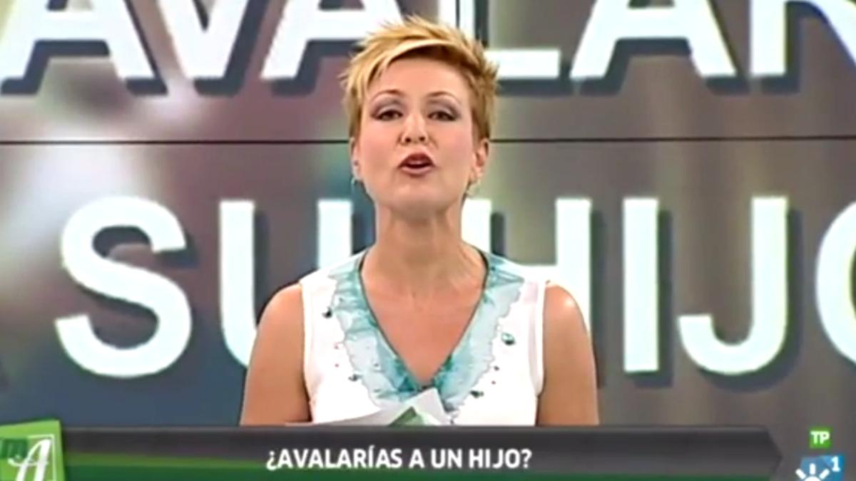 La presentadora de Canal Sur Ana Rodríguez Martí