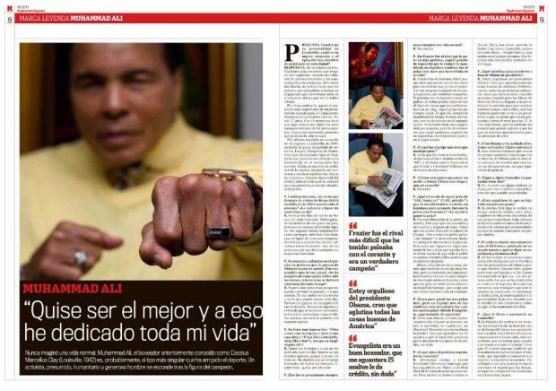La entrevista publicada por Marca el 18 de marzo de 2010.