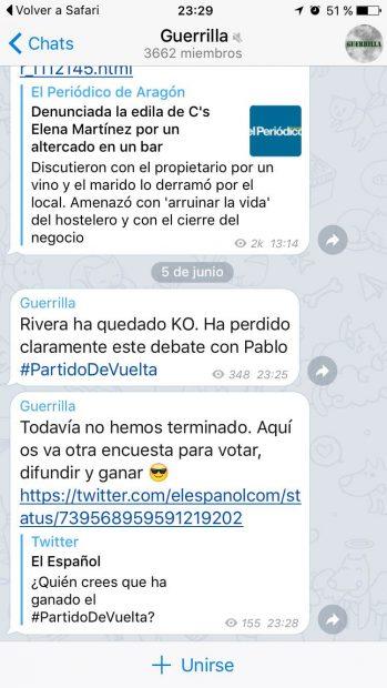 Los Trolls De Podemos Planificaron El Ataque A Rivera Durante El Debate De La Sexta