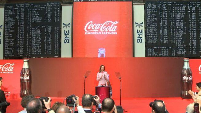 Coca-Cola EuropeanPartners trata de frenar su descalabro bursátil comprando 1.500 millones en acciones propias