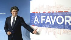 El director de campaña del PP, Jorge Moragas. (Foto: EFE)