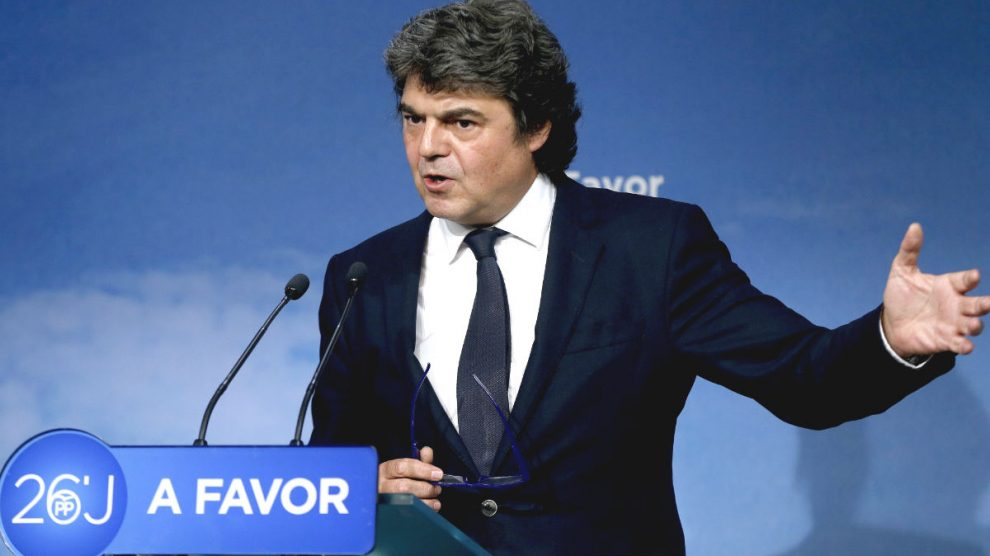 El ex jefe de gabinete de Rajoy en Moncloa, Jorge Moragas. (Foto: EFE)