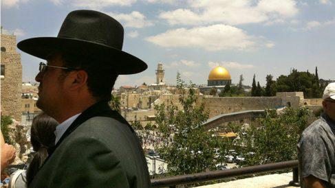 La Cúpula Dorada de Jerusalén, junto al Muro de las Lamentaciones. (ADP)