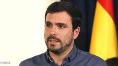 El coordinador federal de Izquierda Unida, Alberto Garzón (Foto: Efe)