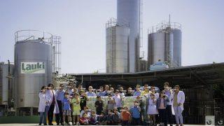 Trabajadores de la fabrica de Lauki en Valladolid