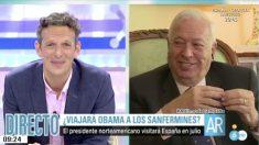 José Manuel García-Margallo en 'El programa de Ana Rosa'. (Foto: Telecinco)