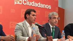 Albert Rivera y Luis Garicano (Foto: AJC).