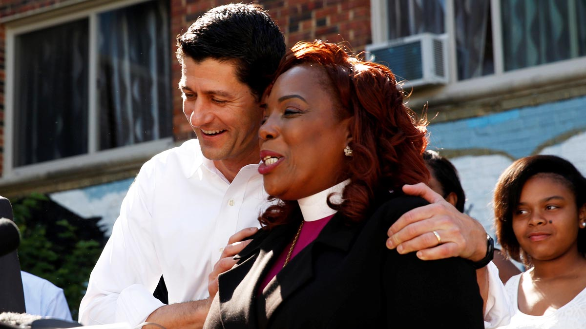 Paul Ryan durante un acto en Washington (Foto: Reuters)