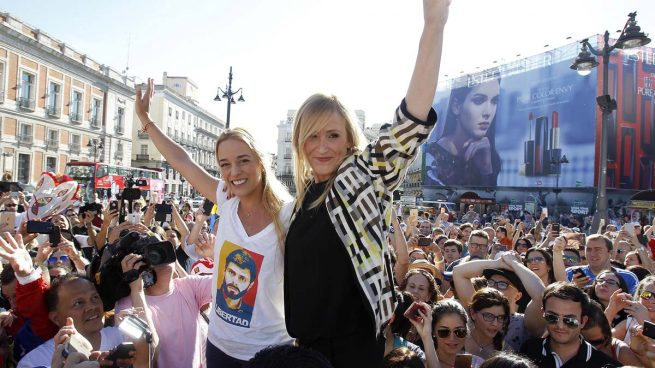 Lilian Tintori: «Gracias Madrid por tanta solidaridad»