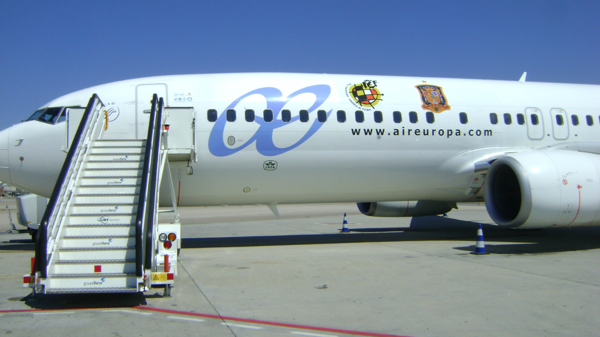 Boeing 737-800 Sky Interior de Air Europa.