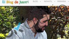 Captura de la portada del 'Blog de Juanri'.