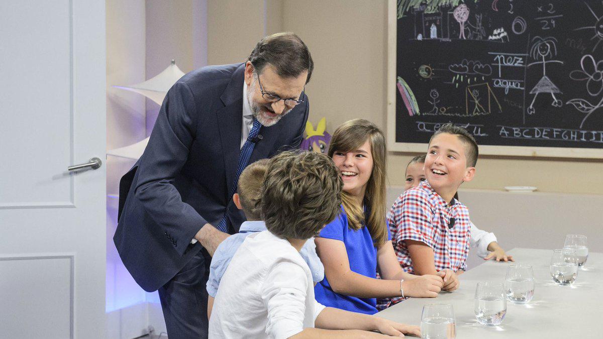 Mariano Rajoy en '26J Quiero gobernar'. (Foto: Telecinco)