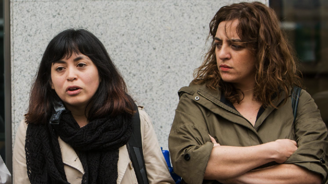 La concejal rebelde de Ahora Madrid Rommy Arce vota sola contra dotar de más medios a la Policía