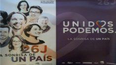 Cartel de Podemos del 26J. (Foto: Twitter de Teresa Rodríguez)