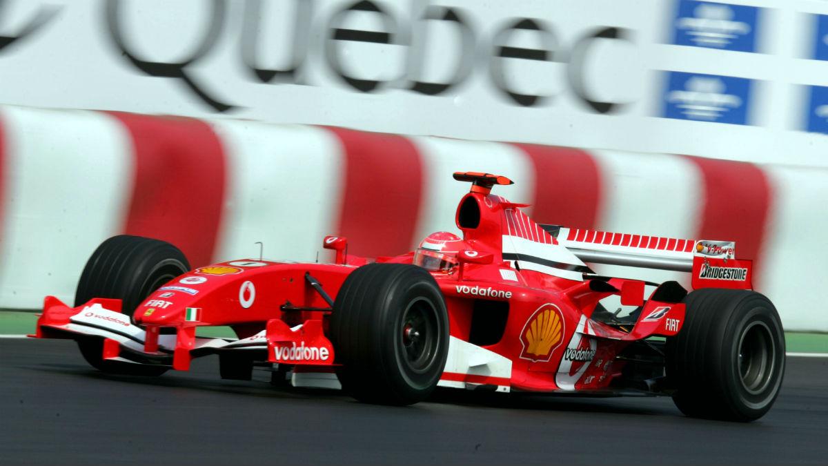 Michael Schumacher es uno de los tres pilotos que provocó la leyenda de 'el muro de los campeones'. (Getty)