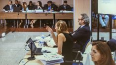 Técnicos de Hacienda declarando el pasado martes en el juicio del caso Nóos en Palma (Foto: Efe).