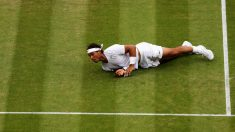 Rafa Nadal no estará en Wimbledon. (Getty)