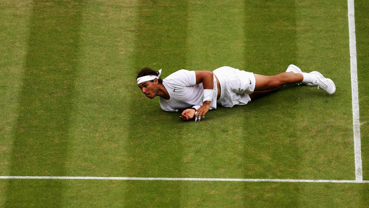 Rafa Nadal no estará en Wimbledon. (Getty)