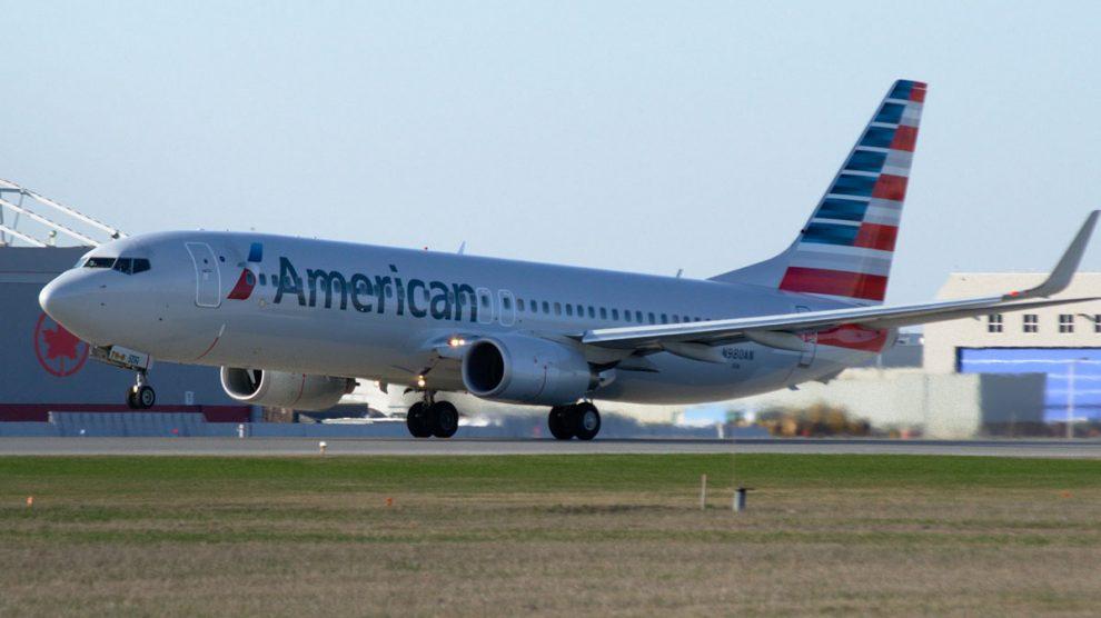 Vuelo de la compañía estadounidense American Airlines.