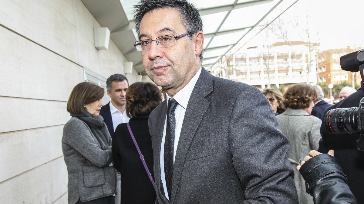 Josep María Bartomeu. (Getty)