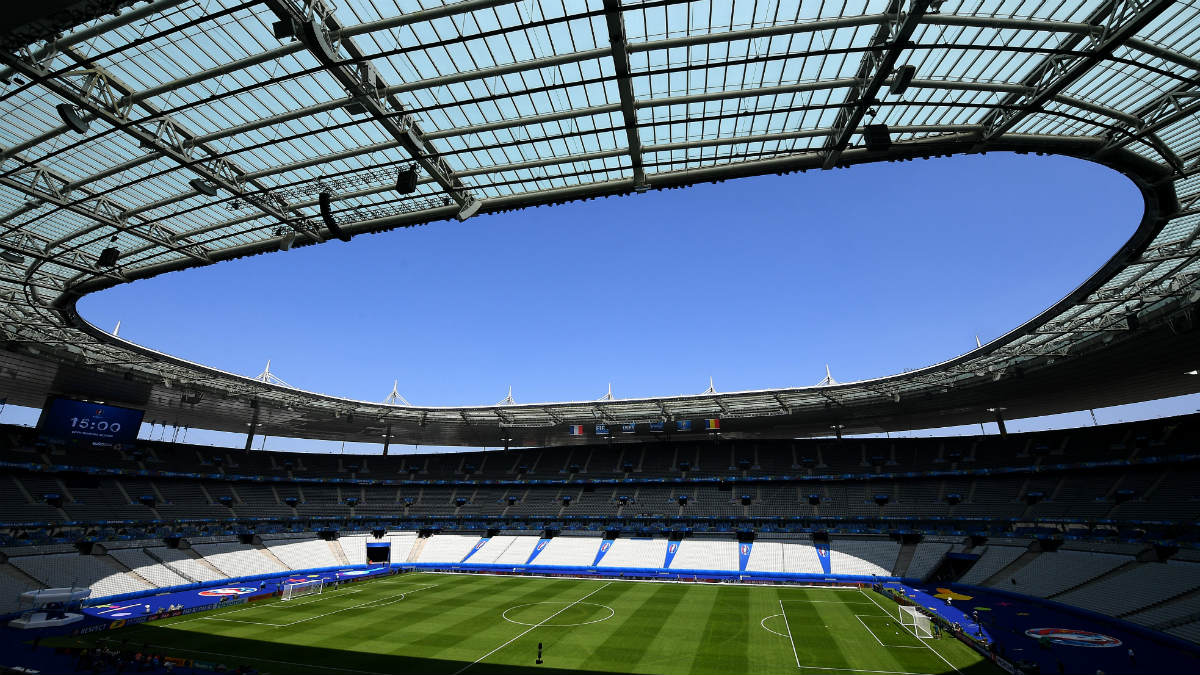 Saint Denis ya está listo para la Eurocopa. (AFP)