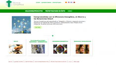 Página web del grupo Técnicas Competitivas SA
