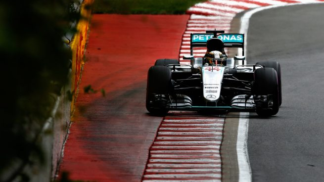 Lewis Hamilton se llevó la pole en Montreal. Alonso saldrá 10º Getty)