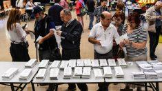 Un colegio electoral. (Foto: Getty)