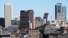 Zona financiera de Madrid (Foto: FDV, con licencia CC BY-SA 3.0).