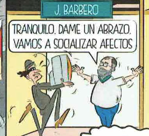 El conceja Javier Barbero encargado de Seguridad. (Foto: OKDIARIO)