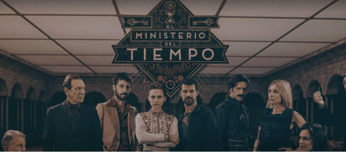 Cartel de la tercera temporada de 'El Ministerio del Tiempo'.