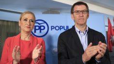 Cristina Cifuentes y Alberto Núñez Feijóo. (Foto: EFE)
