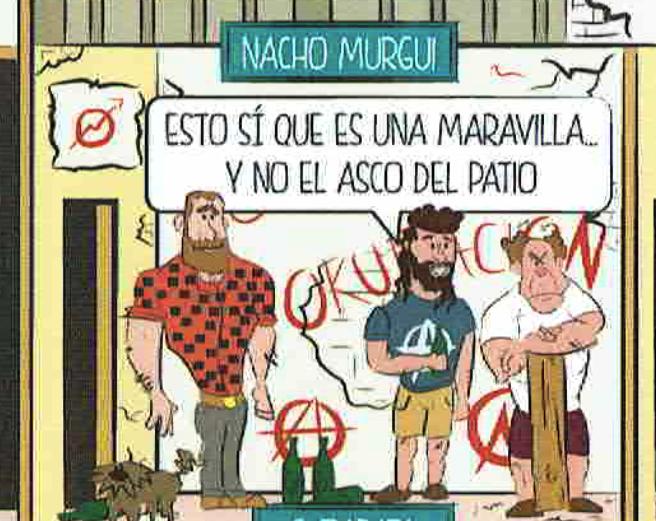 Nacho Murgui, concejal de Asociaciones y ex del Patio Maravillas en el cómic. (Foto: OKDIARIO)