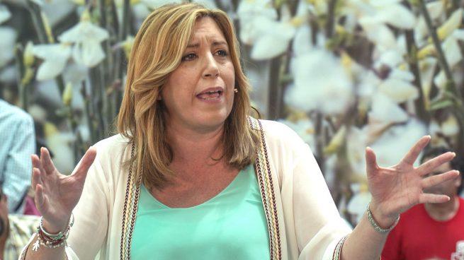 """Susana Díaz exige """"investigar"""" la Madrugá"""" y que caiga todo el peso de la ley"""" sobre los alborotadores"""