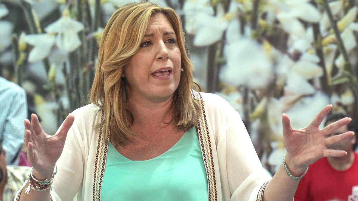 La secretaria general del PSOE de Andalucía y presidenta de la Junta, Susana Díaz (Foto: Efe)