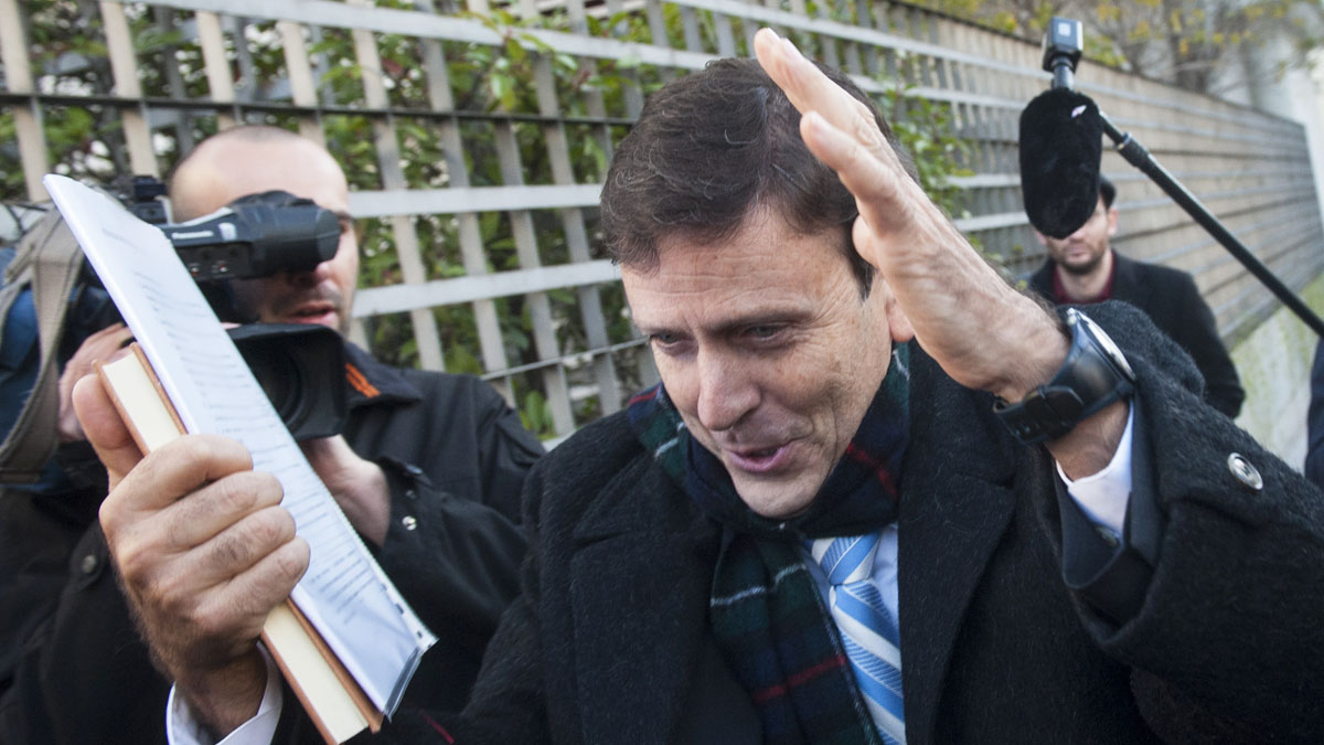 Eufemiano Fuentes. (Foto: AFP)