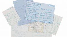Parte de la colección de cartas privadas de Audrey Hepburn. (Foto: Bonhams Entertainment Memorabilia)