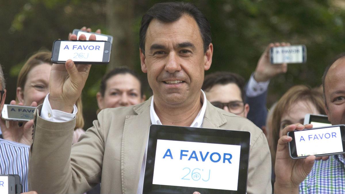 El vicesecretario de Organización del PP, Fernando Martínez-Maíllo (Foto: Efe)