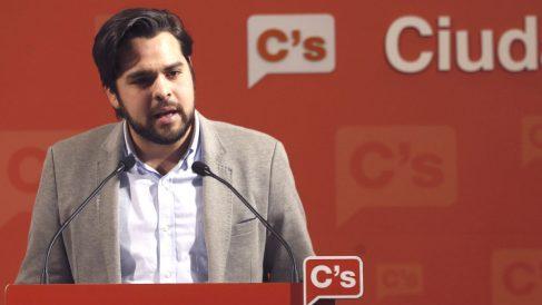 El secretario de Comunicación de Ciudadanos, Fernando de Páramo (Foto: Efe)