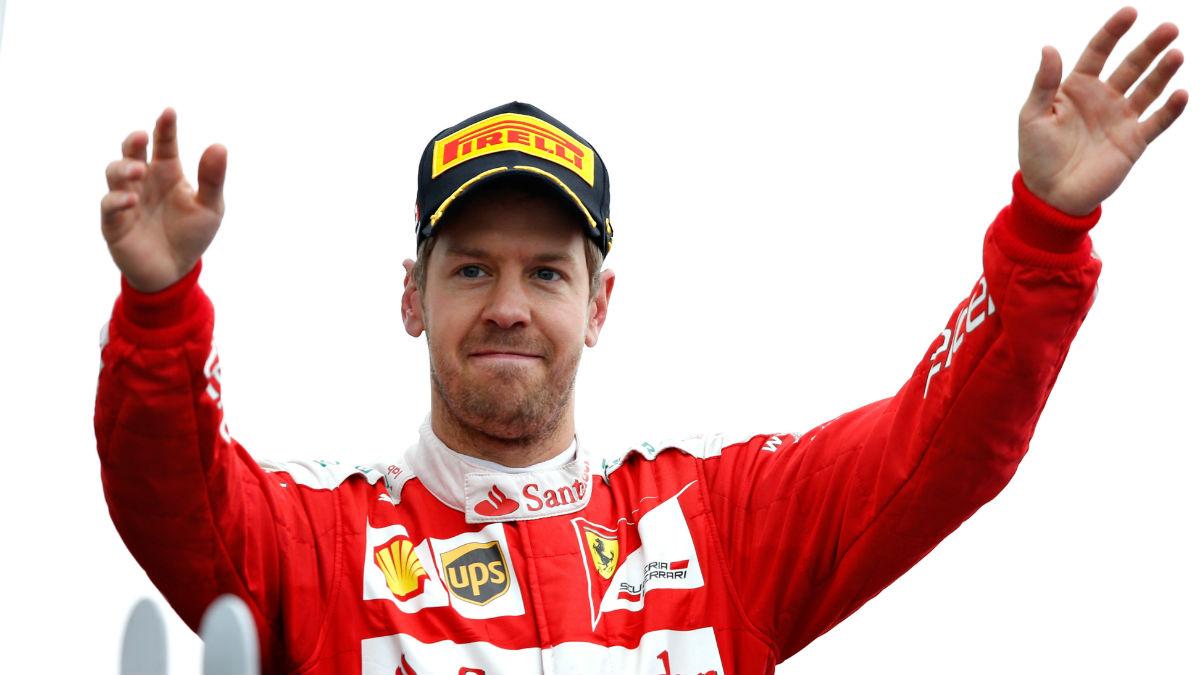 Sebastian Vettel se ha sentido atacado por la prensa italiana tras las últimas carreras. (Getty)